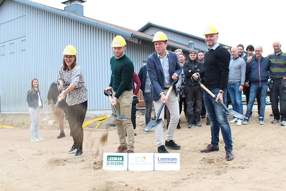 Ensimmäiset askeleet Kaidekaupan uuden toimiston rakentamisessa